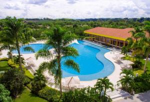 A view of the pool at Hotel Mocawa Resort or nearby