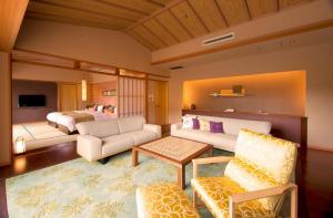 A seating area at ABBA Resorts Izu - Zagyosoh