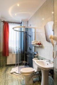 A bathroom at Hotel Galicja