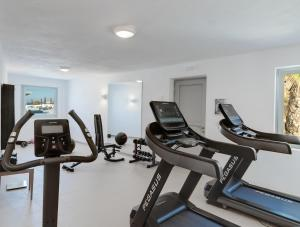 The fitness center and/or fitness facilities at Desiterra Resort