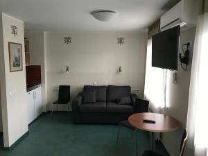 A seating area at Hommiku Guesthouse
