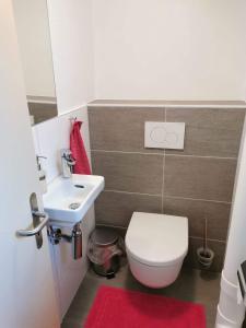 Ванная комната в Haus Chalet Arnika