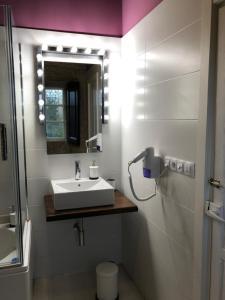 A bathroom at Pazo de Laia