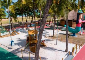 Children's play area at Acqua Suítes Maceió