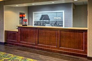 The lobby or reception area at Hampton Inn & Suites Clermont