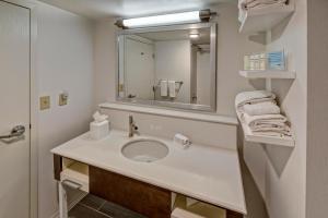 A bathroom at Hampton Inn & Suites Clermont