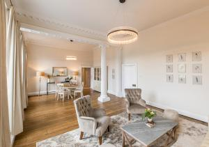 A seating area at Pelham House