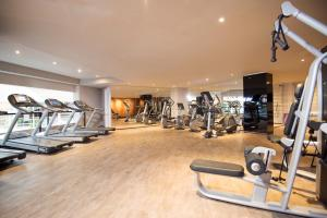 The fitness center and/or fitness facilities at Grand Mercure Sao Paulo Vila Olimpia