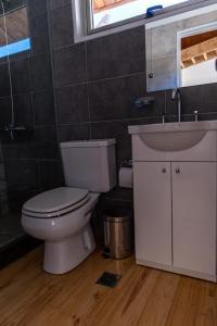 Um banheiro em Complejo Odella Casas de Montaña