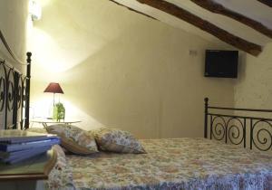 Cama o camas de una habitación en Agroturismo La Artezuela