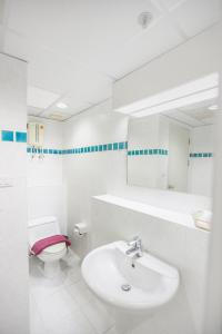A bathroom at The Aiyapura Bangkok