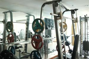 The fitness center and/or fitness facilities at The Aiyapura Bangkok
