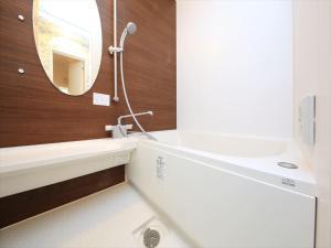 A bathroom at COTO Tokyo Shibuya 3