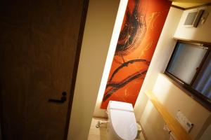 A bathroom at Tajimaya