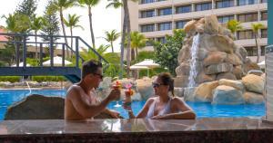 Bazén v ubytovaní Barceló Aruba - All Inclusive alebo v jeho blízkosti