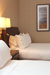 Cama o camas de una habitación en Holiday Inn Express - Concepcion, an IHG Hotel