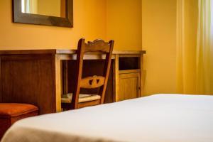 Litera o literas de una habitación en Hotel Rural el Nacimiento