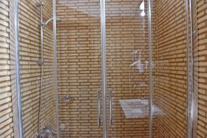 A bathroom at Aegean Wave - Faros