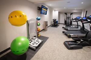 The fitness center and/or fitness facilities at The Delaney Hotel