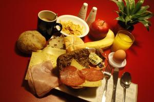 Ontbijt beschikbaar voor gasten van Bud Gett Hostels
