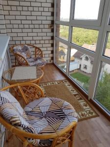Гостиная зона в Apartment on Nahimova 40