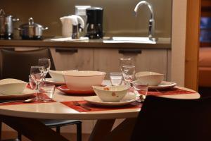 Restaurace v ubytování Sara Apartments