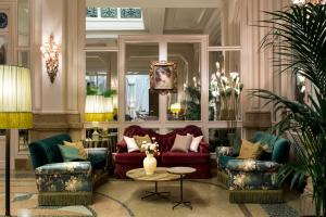 The lobby or reception area at Grand Hotel et de Milan - The Leading Hotels of the World