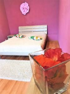 Кровать или кровати в номере MEGAPOLIS Московский проспект 112-547