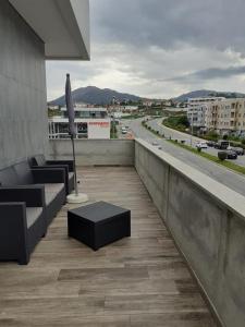 Uma varanda ou terraço em Basto Vila Hotel