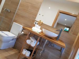 A bathroom at Casa Chelo Alojamientos Turisticos
