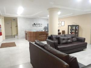 The lobby or reception area at Aquarela Palace Hotel