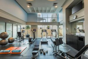 The fitness center and/or fitness facilities at Swissotel Sydney