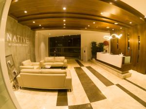 The lobby or reception area at Native By Chancery Hotels