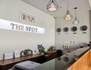 A restaurant or other place to eat at The Spot Residence