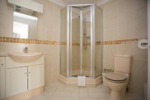 A bathroom at Atlantic Reach Resort