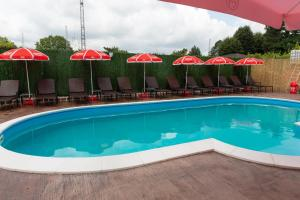 The swimming pool at or near Kladenetsa Guest House