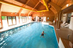 The swimming pool at or near Kingsmills Hotel, Inverness