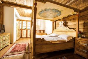 Ein Bett oder Betten in einem Zimmer der Unterkunft Steirisch Ursprung