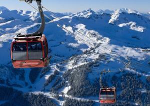 Four Seasons Resort Whistler during the winter