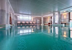 The swimming pool at or near Hyatt Regency Nice Palais de la Méditerranée