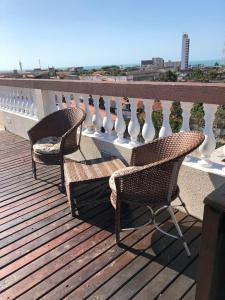 A balcony or terrace at Angra Praia Hotel