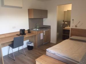 A kitchen or kitchenette at Apartments Thomas Britsch
