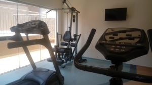 The fitness center and/or fitness facilities at Faria Lima Flat Service