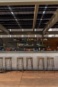 Salon ou bar de l'établissement Pod Brooklyn