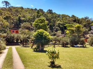 Um jardim em Pousada Pedra da Gávea