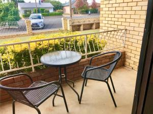 A balcony or terrace at Country Apartments