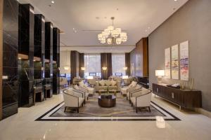 A restaurant or other place to eat at The House Boutique Suites