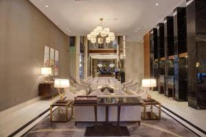 A seating area at The House Boutique Suites