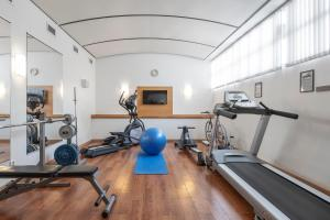 The fitness center and/or fitness facilities at Quality Hotel Galaxen