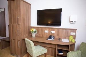 TV/Unterhaltungsangebot in der Unterkunft Landhaus & Landhof Gabriel